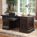 "Double Pedestal Executive Desk - 66""W, 14086"