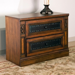 Mediterranean Style Two Drawer Lateral File, 30893