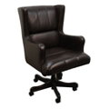 Leather Desk Chair, 55019