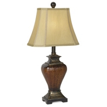 Crackle Finish Table Lamp, 92057