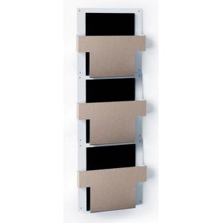 Three Pocket T-Style File Chart Holder, 33421