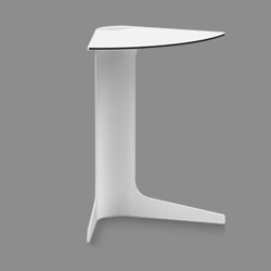 """Stackable Modular Wedge Table - 22""""H, 41799"""