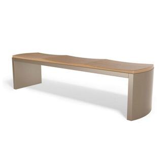 "Contemporary Formed Bench - 72""W, 75025"
