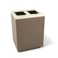 """Two Opening Waste and Recycling Station - 24""""W, 82051"""