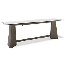 """Standing Height Pedestal Work Table - 120""""W, 46181"""
