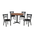 Cross Back Chair & Table Set, 44026