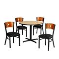 Circle Back Chair & Table Set, 44034
