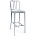 Outdoor Aluminum Bar Height Stool, 50008