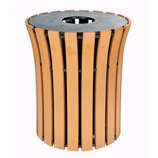 Trash Receptacle - 33 Gallon Capacity, 82144