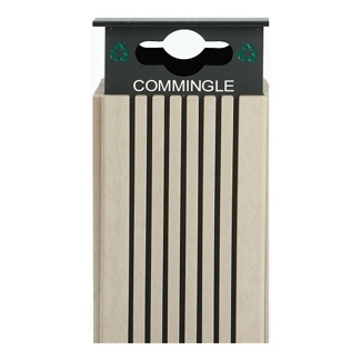 Commingled Recycling Receptacle - 40 Gallon Capacity, 82149