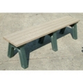 Recycled Plastic Flat Bench 6', 85316