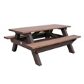 Deluxe Recycled Plastic Picnic Table 6', 85319