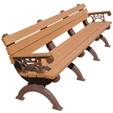 Monarque Bench with Arms 8', 85336