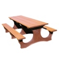 Easy Access Recycled Plastic Picnic Table 8', 85372