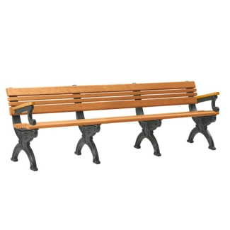 Outdoor Cambridge Bench 8', 85376