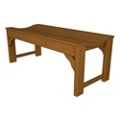 "Traditional Garden 48"" Backless Bench, 85091"