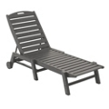 Nautical Wheeled Chaise, 85425