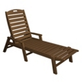 Nautical Chaise with Arms, 85432