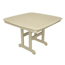 """Nautical Dining Table 44"""", 85438"""