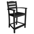 "La Casa Cafe Counter Arm Chair 41""H, 85588"