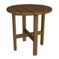 """Round Side Table18"""", 85599"""