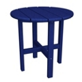 """Round Side Table 18"""" in Vibrant colors, 85600"""