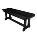 "Park Harvester Backless Bench 48""W, 85675"