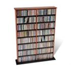 Wood Multimedia Storage Cabinet - Double Width, CD00335