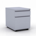 "15""W  Two Drawer Mobile File Pedestal, 34079"