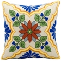 "kathy ireland by Nourison Floral Square Pillow - 18"" x 18"", 82263"
