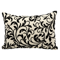 "kathy ireland by Nourison Branch Pattern Accent Pillow - 20""W x 14""H, 82169"