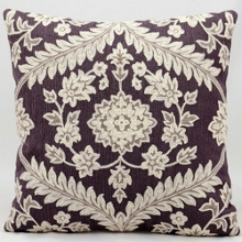 "kathy ireland by Nourison Floral Two Tone Square Pillow -18"" x 18"", 82265"