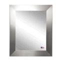 "35.5""H x 29.5""W Round Edge Silver Frame Mirror, 87419"