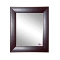 "26""H x 22""W Leather Frame Wall Mirror, 87433"