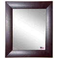 "46""H x 40""W Leather Frame Wall Mirror, 87437"
