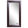 "65.75""H x 30.75""W Leather Floor Mirror, 87438"