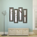 "Set of Four Decorative Frame Mirror Panels - 29.5""H x 15.5""W, 91300"