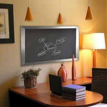 "42""W x 48""H Decorative Framed Blackboard , 80578"