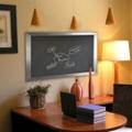 "42""W x 48""H Decorative Framed Blackboard , 80578"
