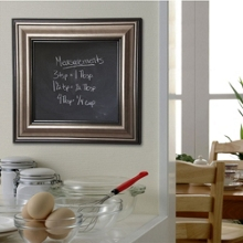 "54""W x 54""H Decorative Framed Blackboard, 80580"