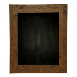 "24""W x 30""H Decorative Wood Framed Blackboard , 80575"