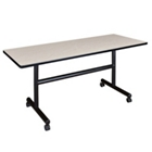 """Mobile Flip Top Training Table - 60""""W x 24""""D, 41031"""