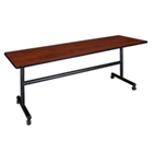 "Mobile Flip Top Training Table - 84""W x 24""D, 41033"