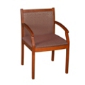 Guest Chair with Patterned Upholstery, 55010