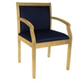 Guest Chair with Fabric Upholstery, 55016