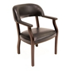 Traditional Vinyl Captains Chair, CD02083