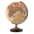 Antique Desktop Globe with Brass and Metal Stand, 86294
