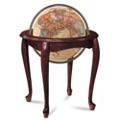 Queen Anne Raised Relief Globe, 91919