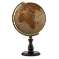 Leather Expedition Raised Relief Globe, 91923