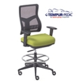 Tempur-Pedic® by raynor group companies Mesh Back Task Stool , 56077
